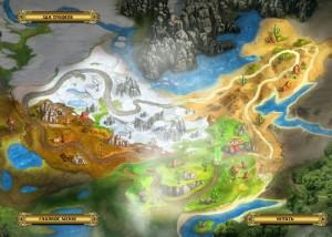 Возведение Великой китайской Стены, карта уровней