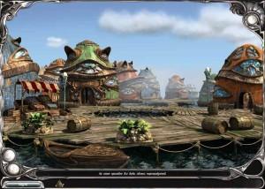 Загадки Царства Сна 5: Книга Воды, сказочные домики