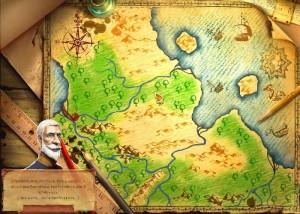 Меридиан: Эпоха изобретений, карта