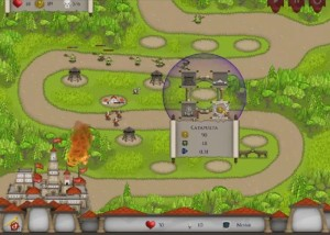Rush on Rome, стратегии, поле боя