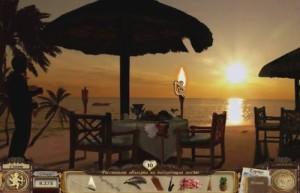 Сваха: Соединяя Сердца, закат на берегу океана