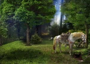 Кощей Бессмертный, богатырский конь