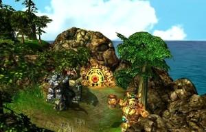 King's Bounty: Воин Севера, приключения, великаны на вершине горы