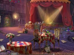 Нашептанные Секреты 3: Сквозь ветер, городская площадь, сцена, столики