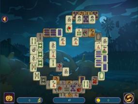 Хэллоуинская ночь: Маджонг, логические игры