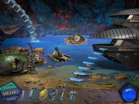 Вторжение: Затерянные во времени, враждебная планета, островок в водоеме