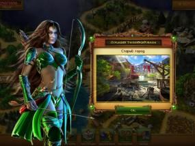 Затерянный остров: Вечный шторм, эльфийка с оружием, лук и стрелы