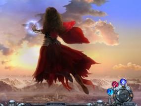 Всадники судьбы 3: Помни о смерти, девушка парящая над землей