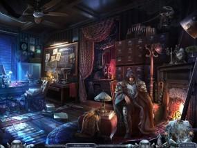 Всадники судьбы 3: Помни о смерти, зажженный камин, темная комната