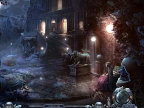 Всадники судьбы 3: Помни о смерти, девушка на скамейке, вечерний сад