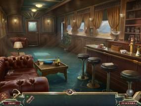 Священный Альманах: Следы жадности, вагон - ресторан, вагон поезда, красный диван