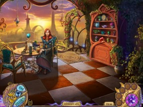 Таинственные сказки 2: Месть Теней, женщина на веранде, шкафчик с рассадой