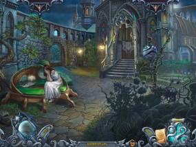 Тайны духов 5: Узы клятвы, плачущая девушка, двор замка