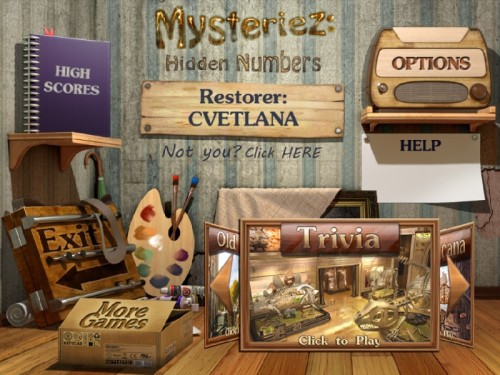 Mysteriez 2: Hidden Numbers  - полная версия
