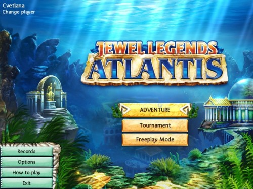 Jewel Legends 2: Atlantis - полная версия