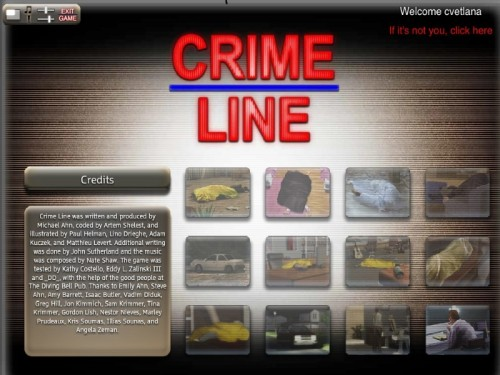 Crime Line: A Novel Murder   - полная версия