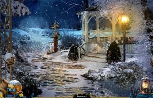 Рождественские истории: Щелкунчик, беседка в снегу
