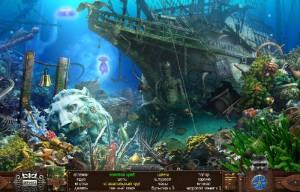 поиск предметов затонувший корабль голова льва морское дно