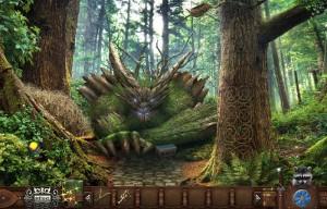 волшебный лес деревянное чудище