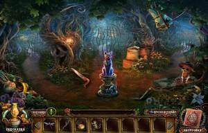 лабиринты в волшебном лесу фигурка кошки