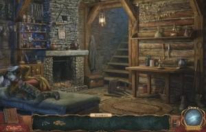 Проклятие Ведьмака, подвал, камин