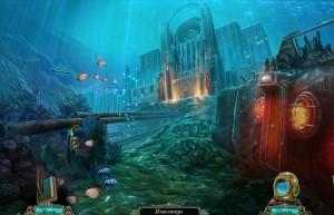 Бездна: Призраки Эдема, подводный Эдем, батискаф
