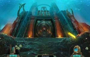 Бездна: Призраки Эдема, вход в подводный город