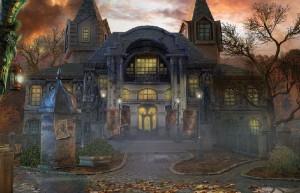 Агентство Аномалий: Последнее представление, старый дом, двор, ворота
