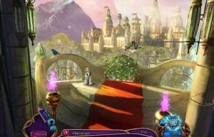 В поисках бессмертия 2: Живая Гора, балкон с видом на красивый город, собачка
