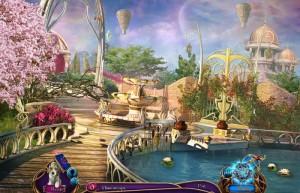 В поисках бессмертия 2: Живая Гора, красивый сад, озеро, цветущие деревья