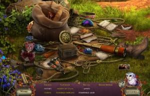 Пробуждение 6: Краснолиственный лес, поиск предметов