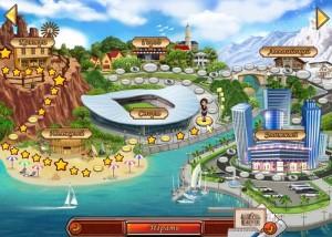 Белла дизайн, карта уровней игры
