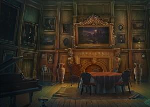 Грани Сознания 2: Убийца разбитых сердец, гостиная, картина, рояль