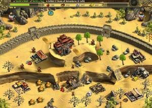 Возведение Великой китайской Стены, симулятор, пустыня