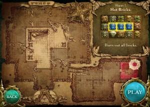 Cursed House 2, три в ряд, карта игры