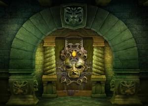 Cursed House 2, три в ряд, ворота