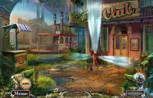 Опасные игры: Пленники судьбы, городская улица, вход в клуб