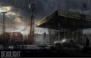 Deadlight, заброшенная заправка