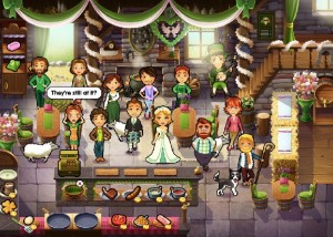 Delicious 8: Emily's Wonder Wedding, свадьба Эмили в кафе