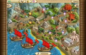 Полубоги, флотилия, море, острова