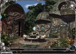 Загадки Царства Сна 5: Книга Воды, сказочные домики, фонтан