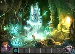 Элементали: Волшебный ключ, пещера, кристаллы
