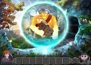 Элементали: Волшебный ключ, лес, пещера, гоблин