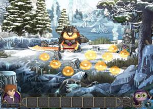 Элементали: Волшебный ключ, заснеженная поляна