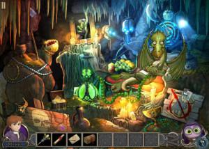 Элементали: Волшебный ключ, пещера, дракон, драгоценности, сокровища