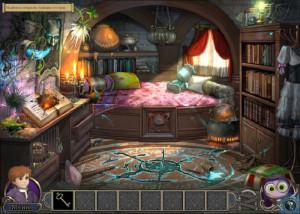 Элементали: Волшебный ключ, спальня, шкаф у стены, комод