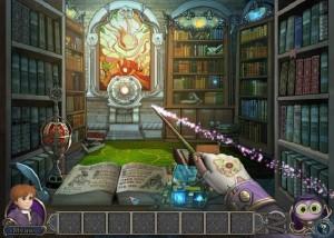 Элементали: Волшебный ключ, библиотека, волшебная палочка, книги