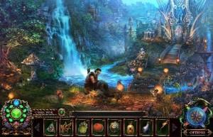 Энчантия: Гнев Королевы Фениксов, лес, водопад