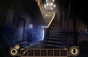 Побег От Наследства, заброшенный дом, лестница