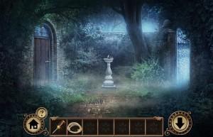 Побег От Наследства, внутренний двор, фонтанчик
